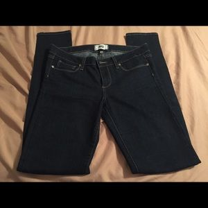 NWOT PAIGE woman's jeans skinny 28